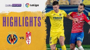 Berita video highlights Liga Spanyol, Villareal ditahan imbang Granada 2-2, Kamis (21/1/21)