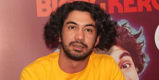 Selain menjadi pemeran utama, Reza Rahadian dan Delia Husein juga mengisi soundtrack dari film Benyamin: Biang Kerok tersebut. Hal ini tentu saja menjadi pengalaman berharga bagi Reza dan Delia. (Bambang E.Ros/Bintang.com)