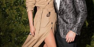 Kemesraan Nick Jonas dan   Priyanka Chopra sudah tercium   oleh publik. (KEVIN TACHMAN/VOGUE/REX/SHUTTERS)