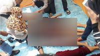 13 warga tewas pada peristiwa kapal karam di Perairan Makassar. (Liputan6.com/Eka Hakim)
