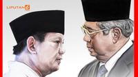 Banner Infografis Panas Dingin Hubungan Demokrat-Gerindra. (Liputan6.com/Abdillah)
