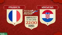 Piala Dunia 2018 Prancis Vs Kroasia (Bola.com/Adreanus Titus)