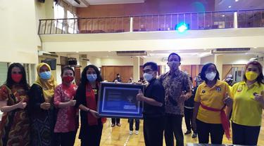 Peringatan 3 tahun bom gereja Surabaya dengan buka puasa bersama. (Dian Kurniawan/Liputan6.com)