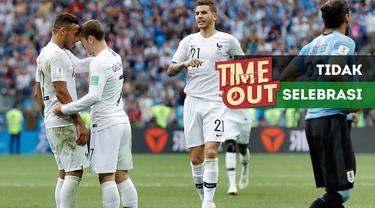 Berita video Time Out kali ini tentang alasa Antoine Griezmann tidak melakukan selebrasi setelah mencetak gol ke gawang Uruguay pada perempat final Piala Dunia 2018.