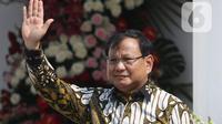Menhan Prabowo Subianto. (Liputan6.com/Angga Yuniar)