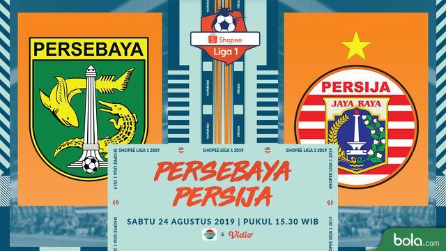 Eksklusif Live Streaming Shopee Liga 1 di Indosiar: Persebaya Vs Persija – Indonesia