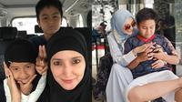 Inneke Koesherawati dan Anak Angkat (Sumber: Instagram//inekekoes/)