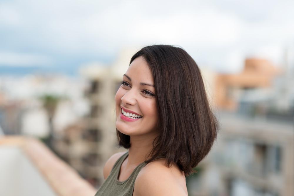 Ilustrasi rambut segar dan sehat. (via: 123rf.com)