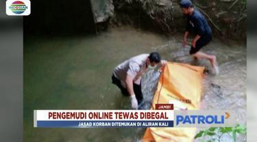 Pengemudi taksi online di Jambi ditemukan tewas di perairan Muba, Sulawesi Selatan. Pengemudi diduga jadi korban pembegalan.