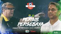 Shopee Liga 1 - Persib Bandung Vs Persebaya Surabaya - Head to Head Pelatih (Bola.com/Adreanus Titus)