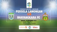 Persela lamongan vs bhayangkara FC