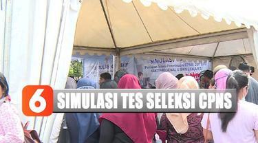Simulasi tidak hanya dilakukan di Jakarta, tapi juga di Makassar, Denpasar, Jogja, dan Semarang.