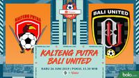 Shopee Liga 1 - Kalteng Putra Vs Bali United FC (Bola.com/Adreanus Titus)