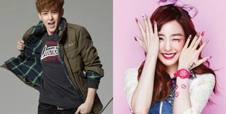Setelah menjalin asmara selama 1 tahun, Tiffany dan Nichkhun 2PM memutuskan untuk putus. Jadwal yang sama-sama padat disebut sebagai penyebab kandasnya asmara Tiffany dan Nichkhun. (Foto: Soompi.com)