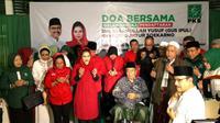 Pasangan Gus Ipul-Puti Guntur Soekarno. (Liputan6.com/Dian Kurniawan)