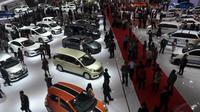 Acara pameran otomotif akbar ini diadakan dari tanggal 18-28 September, Jakarta, (18/9/14). (Liputan6.com/Miftahul Hayat)