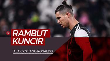 Berita video 6 pesepak bola yang bergaya rambut kuncir ala Cristiano Ronaldo. Siapa yang lebih keren?