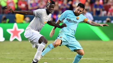 Paul Pogba dan Lionel Messi
