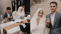 Momen Pernikahan Ikke Nurjanah dan Karlie Fu. (Sumber: Instagram/@ikkenurjanah0518 )