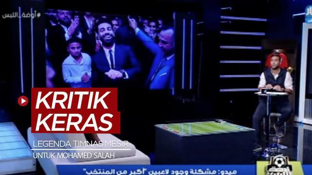 Berita video Legenda Timnas Mesir, Mido, memberi kritik keras kepada bintang Liverpool yang positif COVID-19, Mohamed Salah.