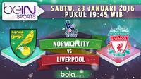 Norwich City vs Liverpool (Bola.com/Samsul Hadi)