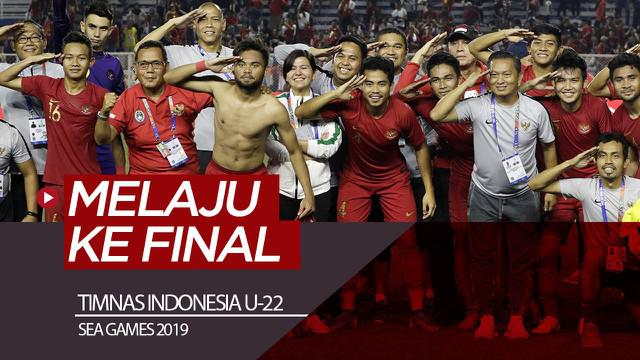 Berita video highlights semifinal sepak bola putra SEA Games 2019 antara Myanmar melawan Timnas Indonesia U-22 yang berakhir dengan skor 2-4, Sabtu (7/12/2019).
