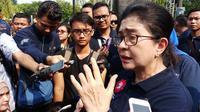 Angka penyakit tidak menular tinggi, Menteri Kesehatan RI Nila Moeloek menyampaikan, perilaku masyarakat harus diubah. (Liputan6.com/Fitri Haryanti Harsono)
