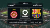 La Liga: Girona Vs Barcelona (Bola.com/Adreanus Titus)