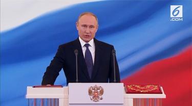 Vladimir Putin resmi dilantik sebagai Presiden Rusia periode 2018 – 2024.