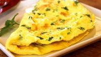 Ilustrasi omelet (Sumber: Pixabay)