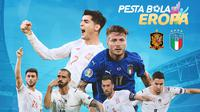 Piala Eropa - Euro 2020 Spanyol Vs Italia - Duel Antar Lini (Bola.com/Adreanus Titus)