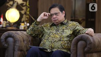 Menko Airlangga: Angka Penularan Covid-19 Indonesia di Bawah Standar Global