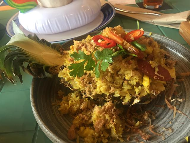 Nasi goreng dengan citarasa unik./Copyright Vemale/Anisha