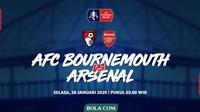 Piala FA - AFC Bournemouth Vs Arsenal (Bola.com/Adreanus Titus)