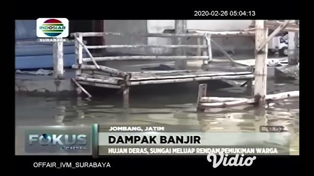 Banjir yang terjadi di Jakarta berdampak terhadap kereta api perjalanan jarak jauh di wilayah PT. KAI Daop 8 Surabaya, hingga  Selasa pagi (26/02) terdapat tiga perjalanan kereta api jarak jauh yang mengalami keterlambatan.