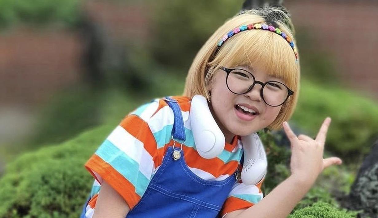 Go Do Yeon yang berusia 9 tahun tampil menggemaskan dengan beberapa outfit yang ia posting di akun Instagramnya @lee_6038.