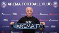 Pelatih anyar Arema FC Mario Gomez. (foto: https://www.instagram.com/aremafcofficial)