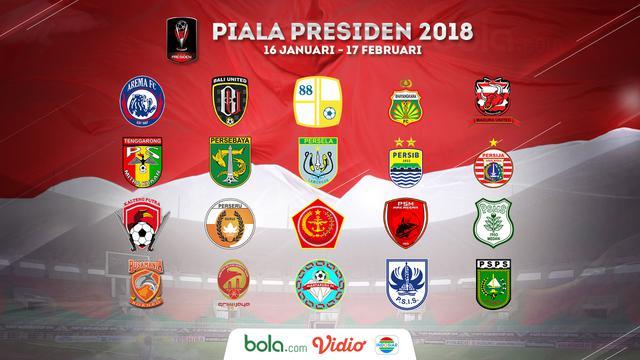 Klasemen Piala Presiden 2018: PSMS Beri Kejutan, Persib Terancam - Indonesia Bola.com