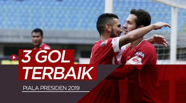 Berita video gol-gol terbaik yang tercipta pada match day I Piala Presiden 2019. Siapa gol favoritmu?