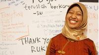 Ayu Kartika Dewi, salah seorang staf khusus Presiden Jokowi dari golongan milenial. (dok.Instagram @ayukartikadewi/https://www.instagram.com/p/B7uQ9-ghcci/Henry)