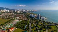 Pemandangan udara Pulau Penang, Penang, Malaysia. ©Shutterstock