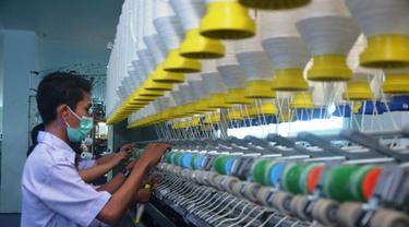 Pekerja Pabrik Tekstil
