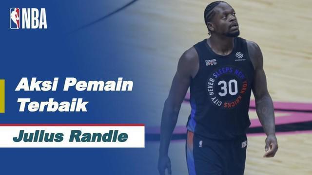 Berita video aksi-aksi terbaik dari bintang NBA hari ini, Julius Randle, saat New York Knicks mengalahkan Dallas Mavericks, Sabtu (17/4/2021) pagi hari WIB.