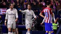 Cristiano Ronaldo dan Gareth Bale (AFP/Gerard Julien)