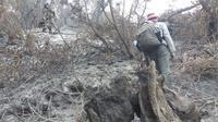 Kebakaran melalap 30 hektare hutan di lereng Gunung Slamet, Banyumas, Jawa Tengah. (Foto: Liputan6.com/Perhutani/Muhamad Ridlo)