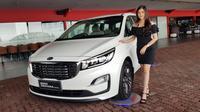KIA Grand Sedona Diesel resmi meluncur di Indonesia. (Herdi Muhardi)