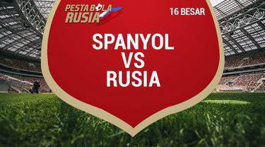 Timnas Spanyol gagal menembus perempat Piala Dunia 2018, setelah takluk dari tuan rumah Rusia lewat adu penalti.