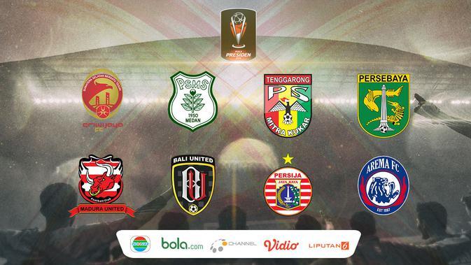 Hari Ini Undian Babak  Besar Piala Presiden  Bola Liputan Com