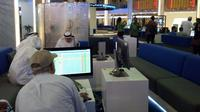 Bursa Efek Dubai. (Nurma/Liputan6.com)
