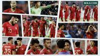 Kolase - Terpuruknya Timnas Indonesia di Piala AFF 2018 (Bola.com/Adreanus Titus)